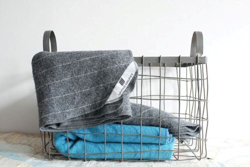 Throw Blanket Storage Ideas