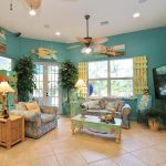 Tropical Living Room Awesome