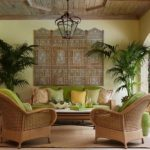 Tropical Living Room Simple