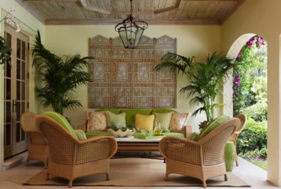 Image of: Tropical Living Room Simple