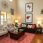 Turquoise Living Room Brown