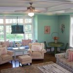 Turquoise Living Room Simple