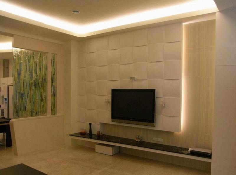 Image of: Tv Wall Panel Plans