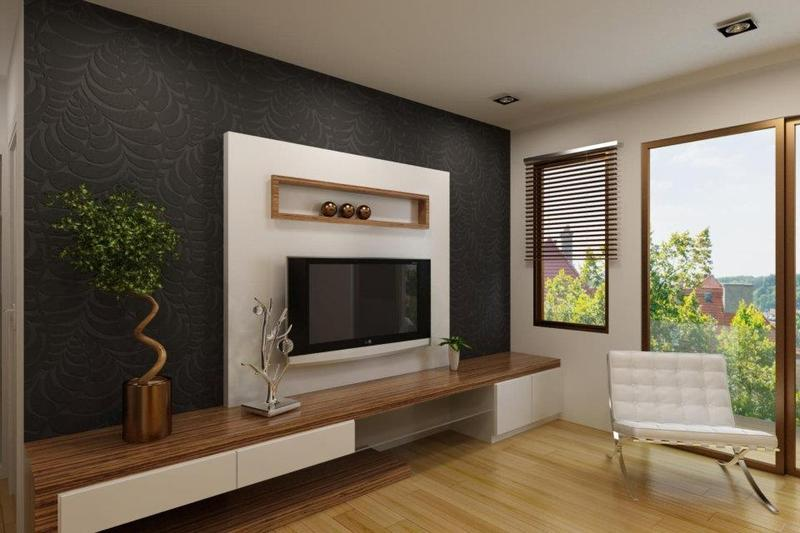 Image of: Tv Wall Panel System