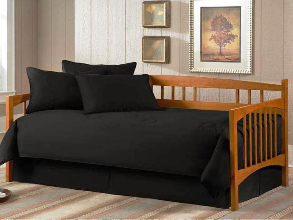 Image of: Twin Gold Bed Skirt