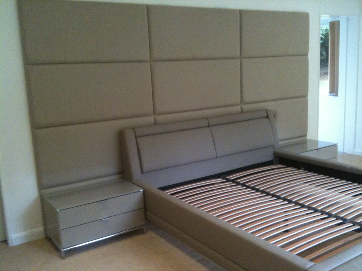 Image of: Upholstered Wall Panels Creative