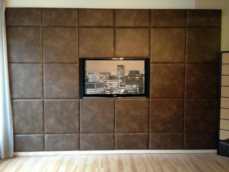 Image of: Best Upholstered Wall Panels Diy