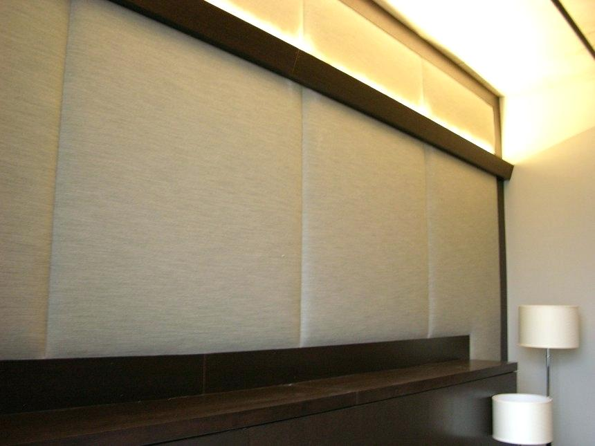 Image of: Upholstered Wall Panels Ideas
