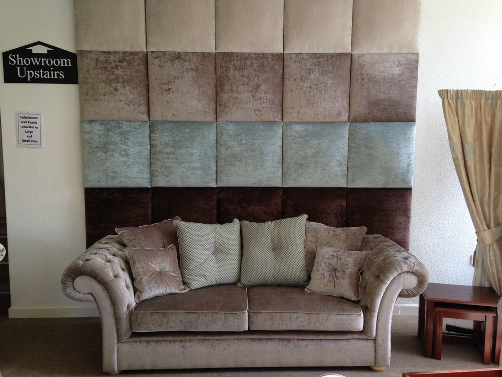 Image of: Upholstered Wall Panels Interior