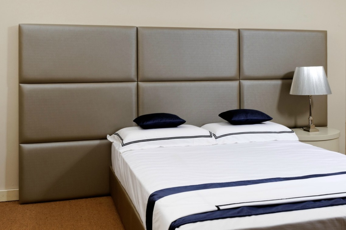 Image of: Upholstered Wall Panels Large