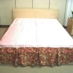 Used Patterned Bed Skirt