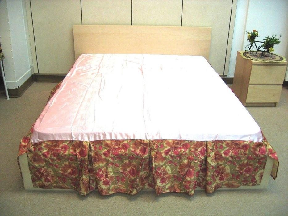 Image of: Used Patterned Bed Skirt