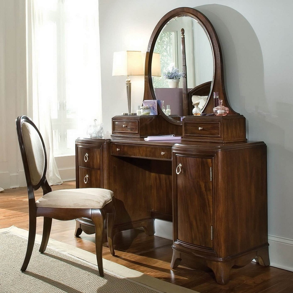 Image of: Value Antique Vanity Dresser