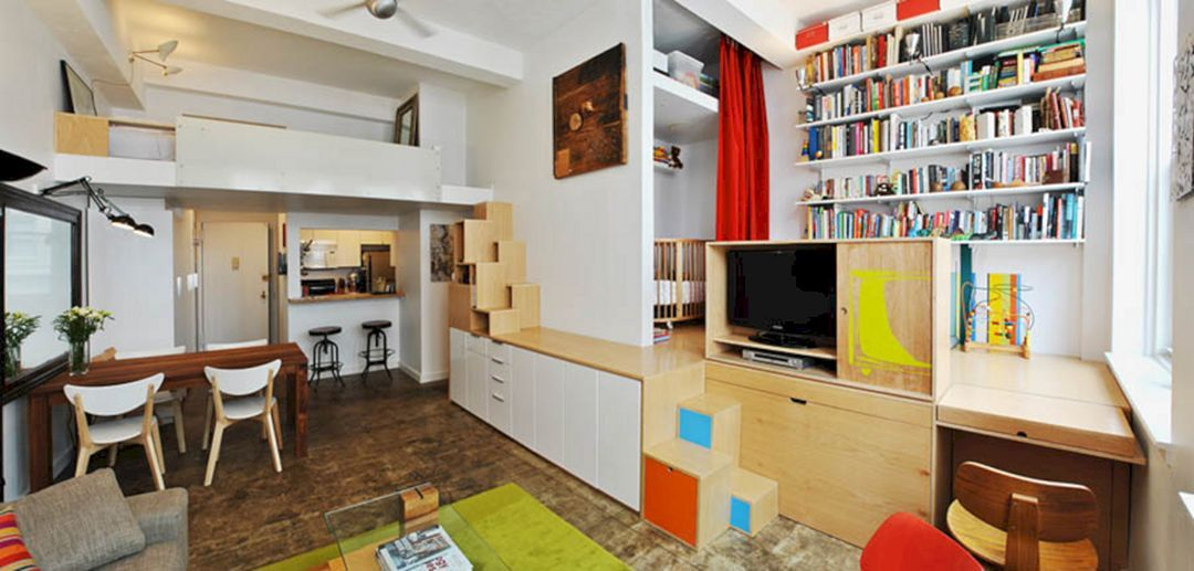 Wall Apartment Storage Ideas