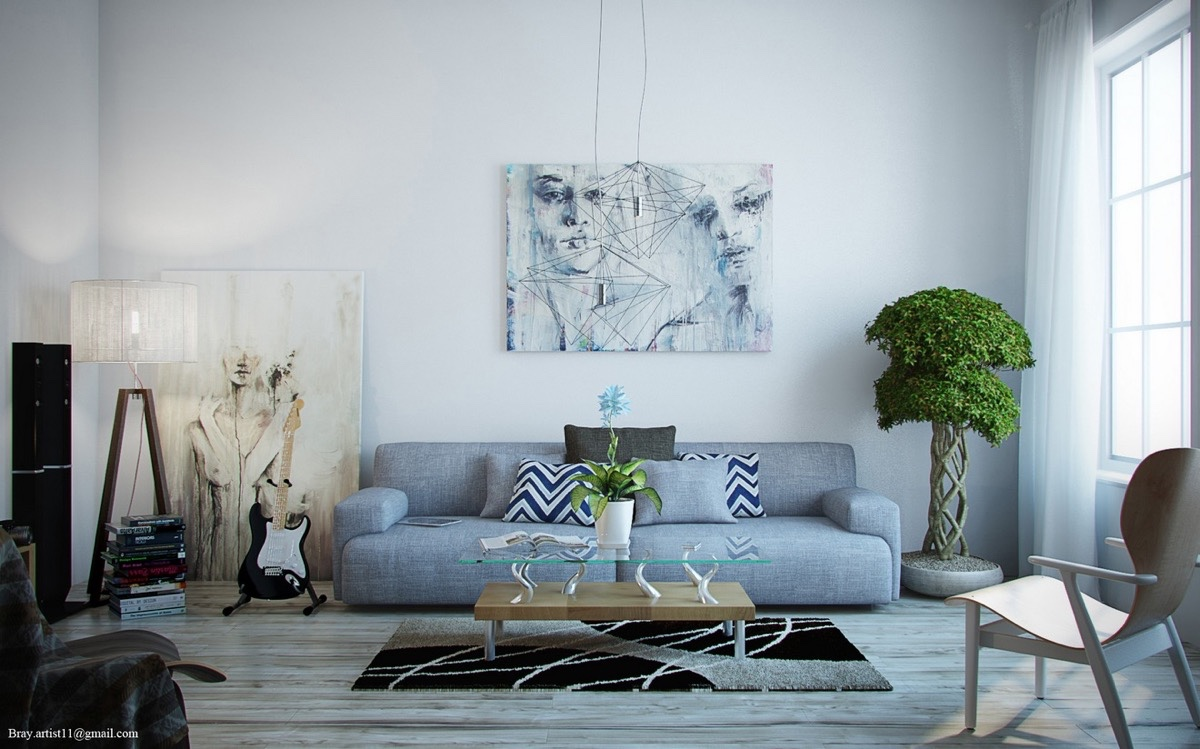 Image of: Wall Art Ideas For Living Room Inspiration