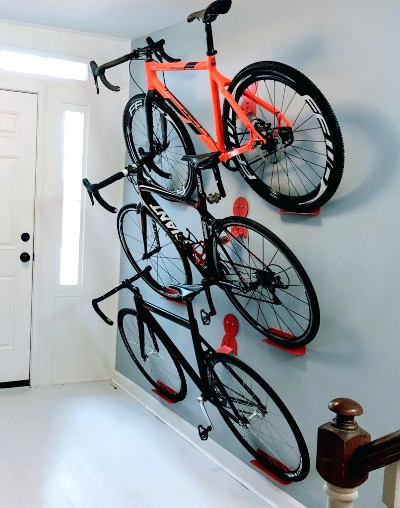 Wall Bicycle Storage Ideas