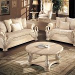 White Living Room Furniture Sets Luxury