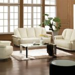 White Living Room Furniture Sets Simple