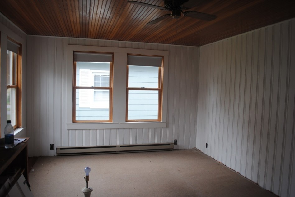 Image of: White Wall Paneling Idea