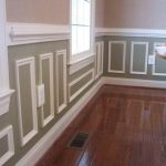 White Wall Paneling Paint