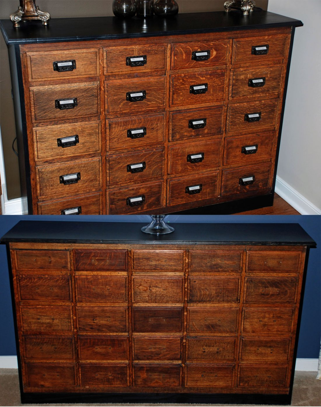 Wood Apothecary Dresser