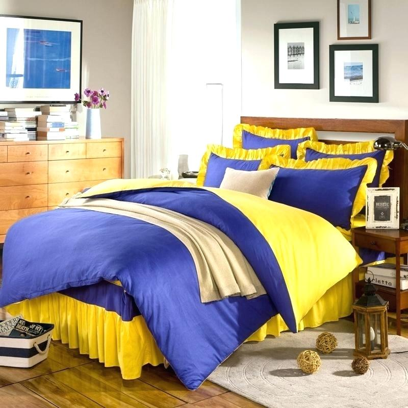 Yellow Bed Skirt Style