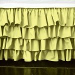 Yellow Bed Skirt Twin