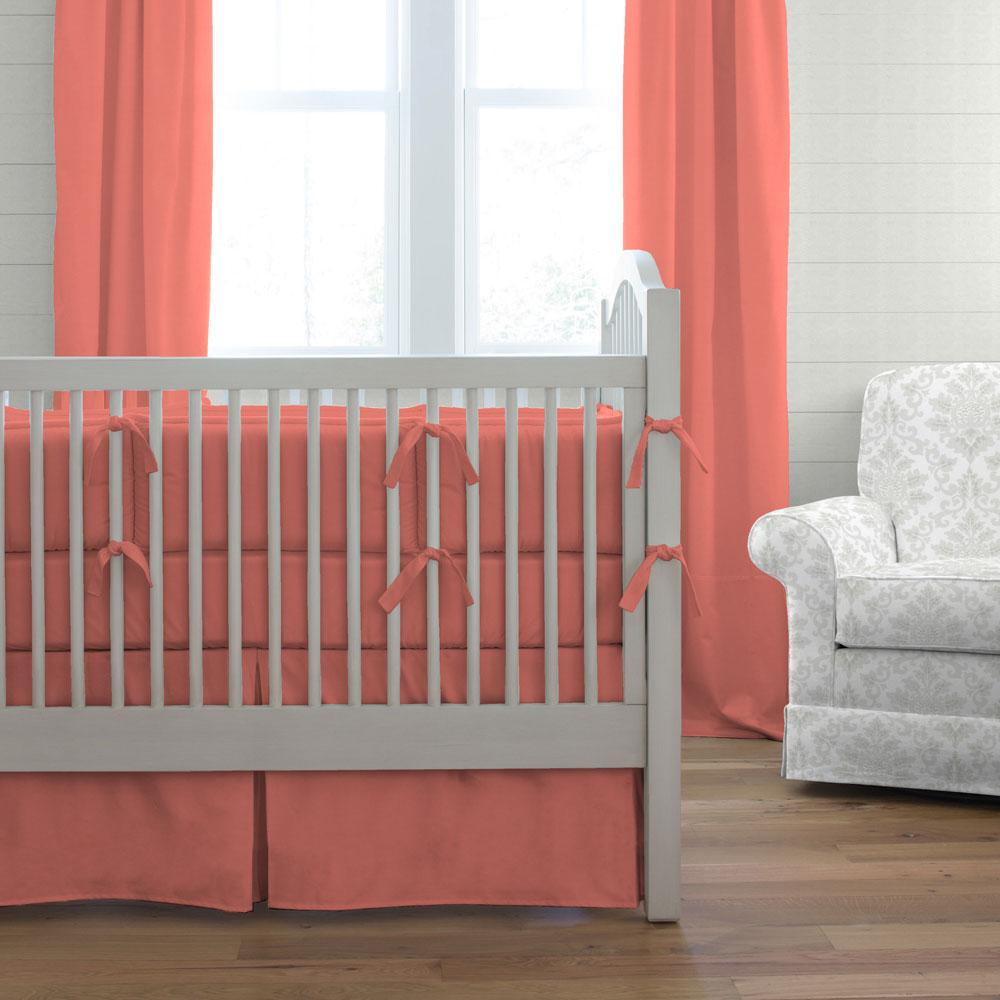 Amazing Coral Baby Bedding