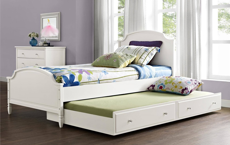 Image of: Amazing Trundle Beds