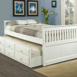 Amazing White Trundle Bed