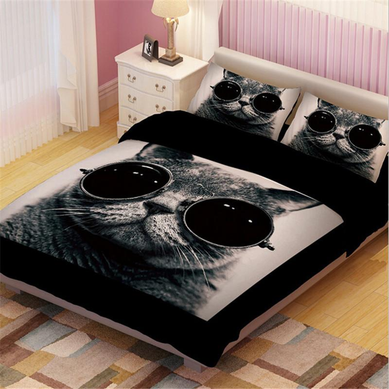 Image of: Awesome Cat Bedding Sets