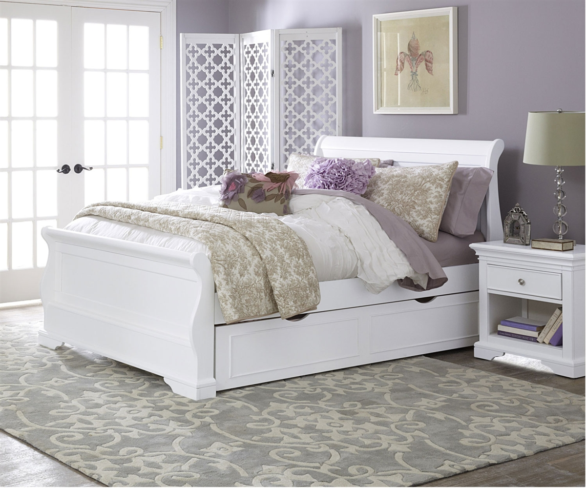 Image of: Awesome Full Size Trundle Bed