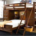 Awesome Queen Bunk Bed with Desk