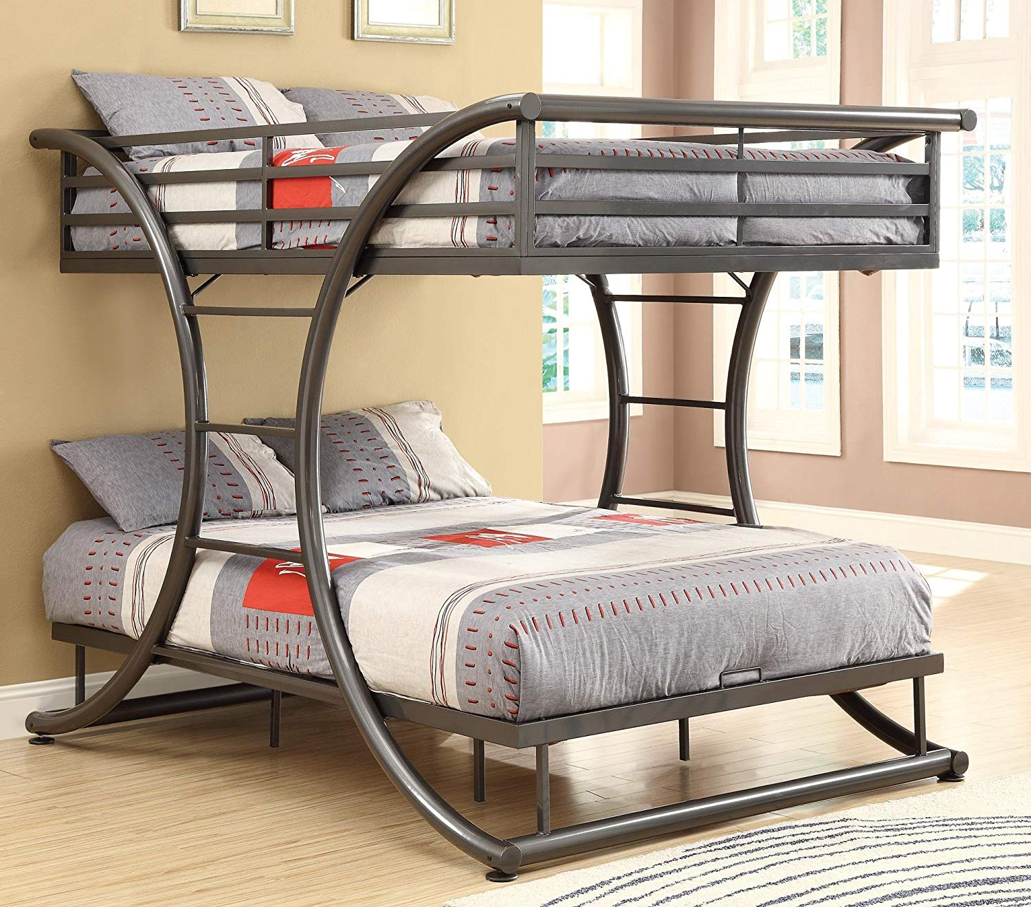 Image of: Awesome Sturdy Bunk Beds