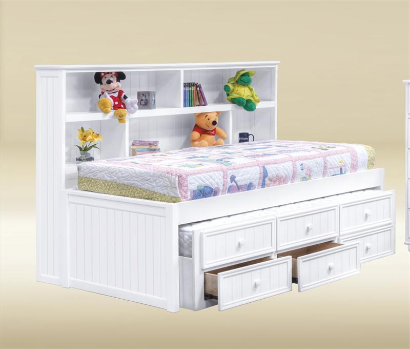 Image of: Beautiful Twin Bed with Trundle