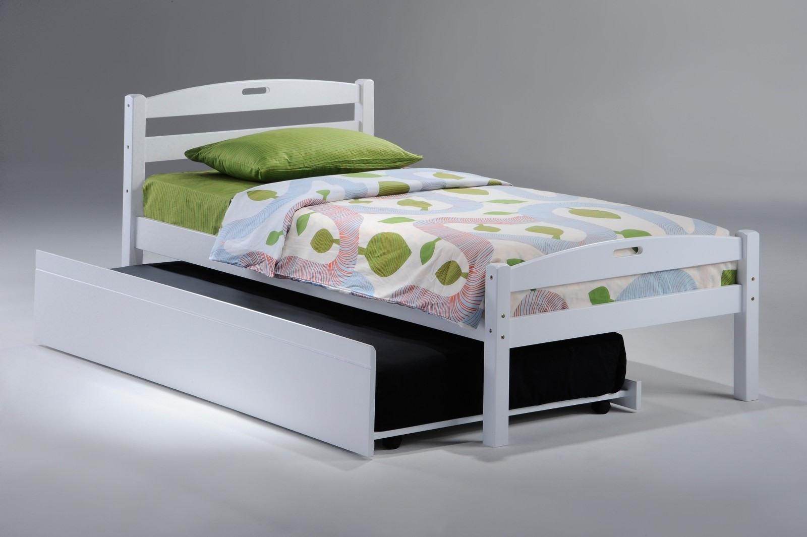 Image of: Bed Frame With Trundle Best