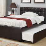 Bed Frame With Trundle Black