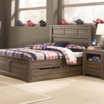 Bed Frame With Trundle Dark