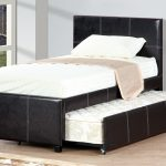 Bed Frame With Trundle Leather