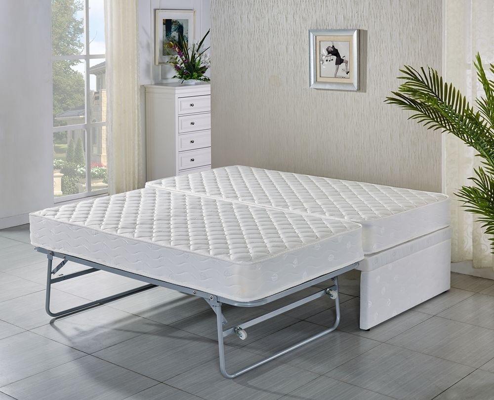 Image of: Bed Frame With Trundle Manufactures