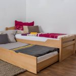Bed Frame With Trundle Modern