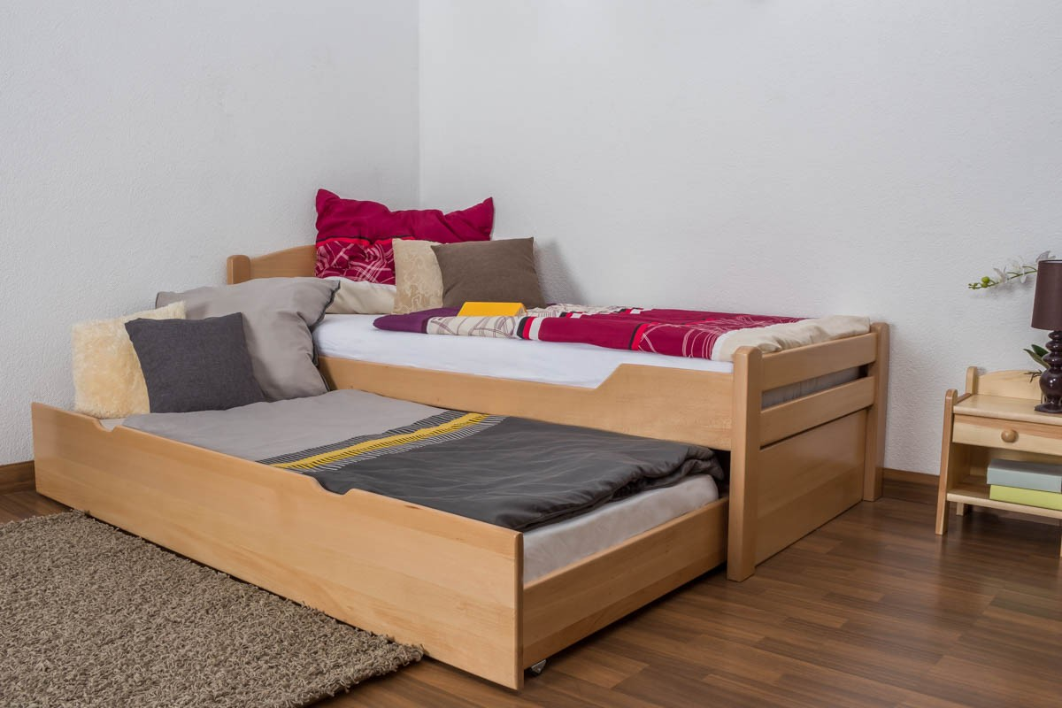 Image of: Bed Frame With Trundle Modern