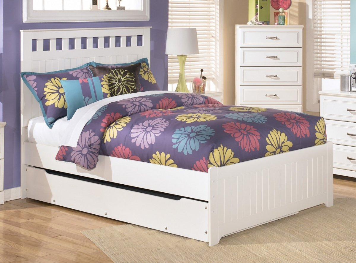 Image of: Bed Frame With Trundle Popular