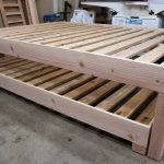 Bed Frame With Trundle Queen