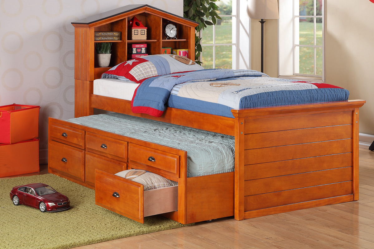 Image of: Bed With Trundle Colors