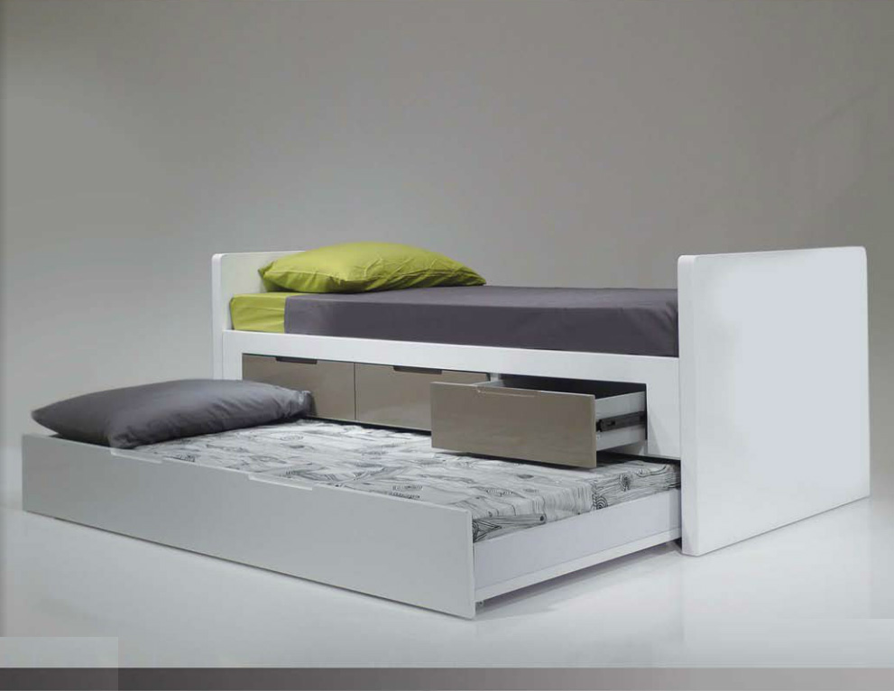 Image of: Bed With Trundle Design