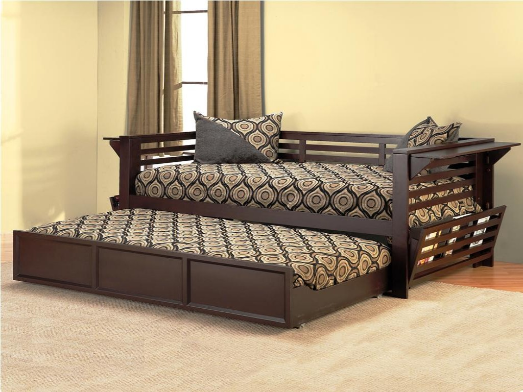 Image of: Best Daybed With Pop Up Trundle Bed