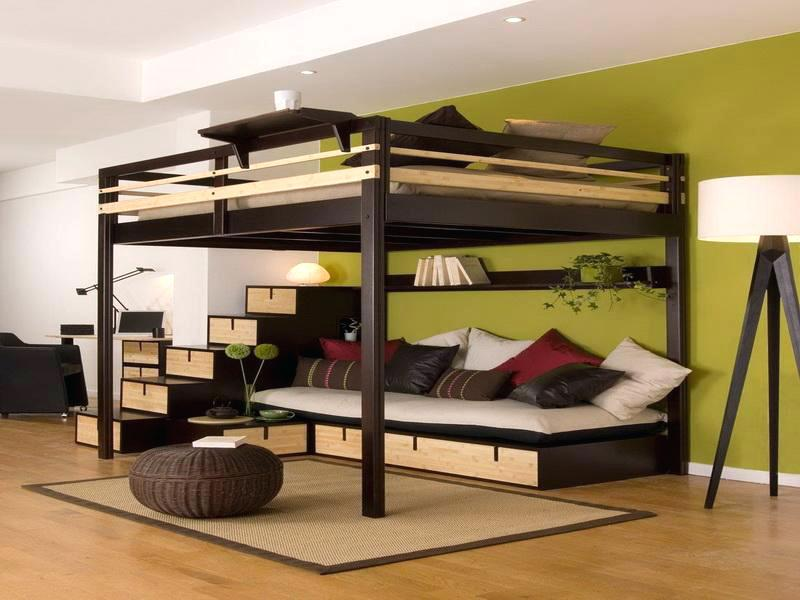 Image of: Best Queen Bunk Beds for Adults