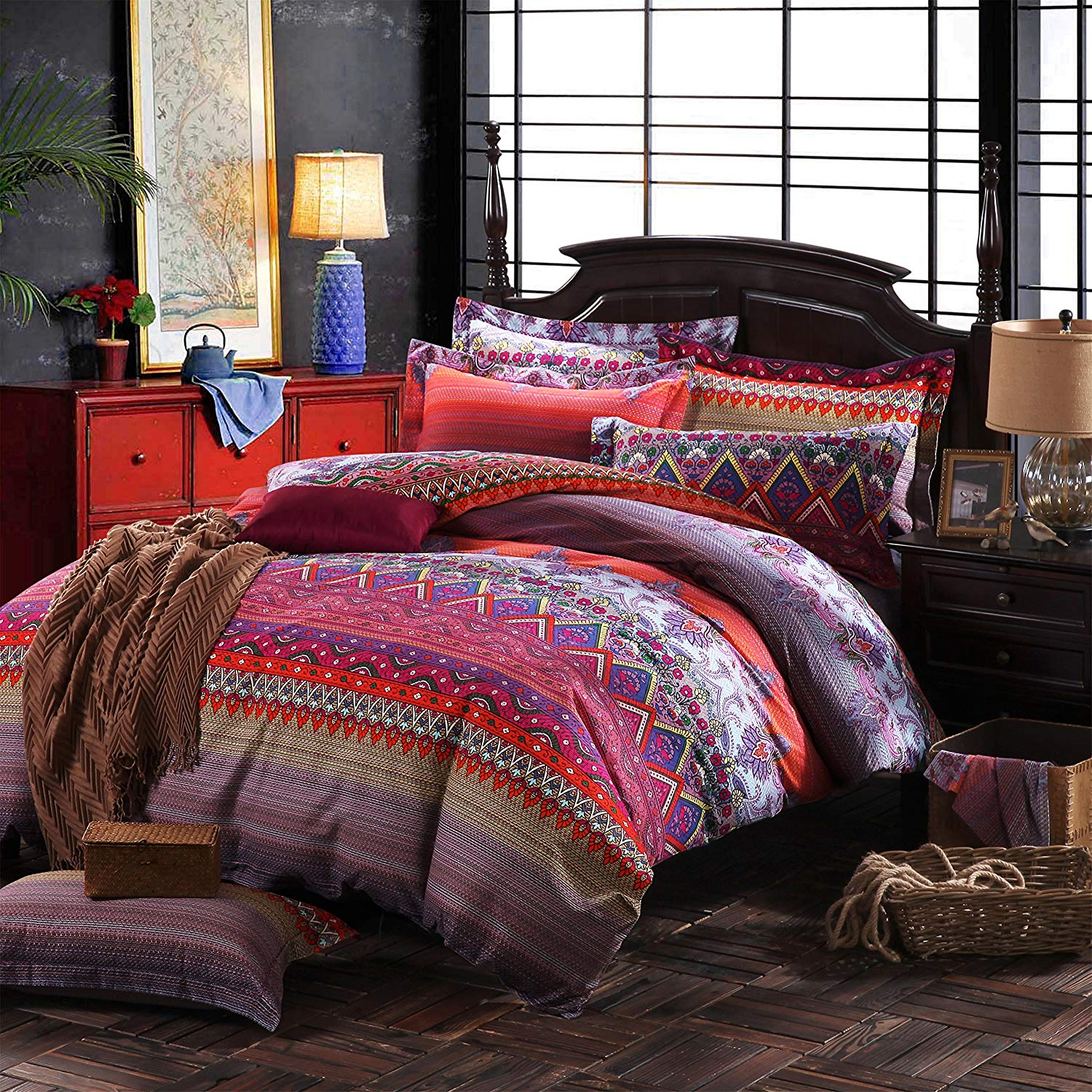 Image of: Bohemian Style Bedding Sets