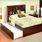 Boy Queen Bed with Trundle